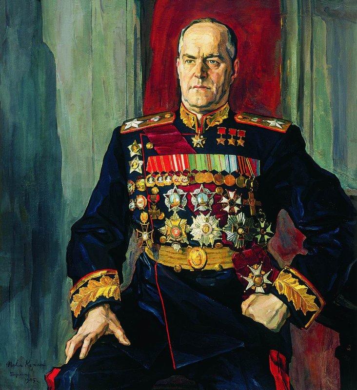 Картинки по запросу корин портрет Жукову